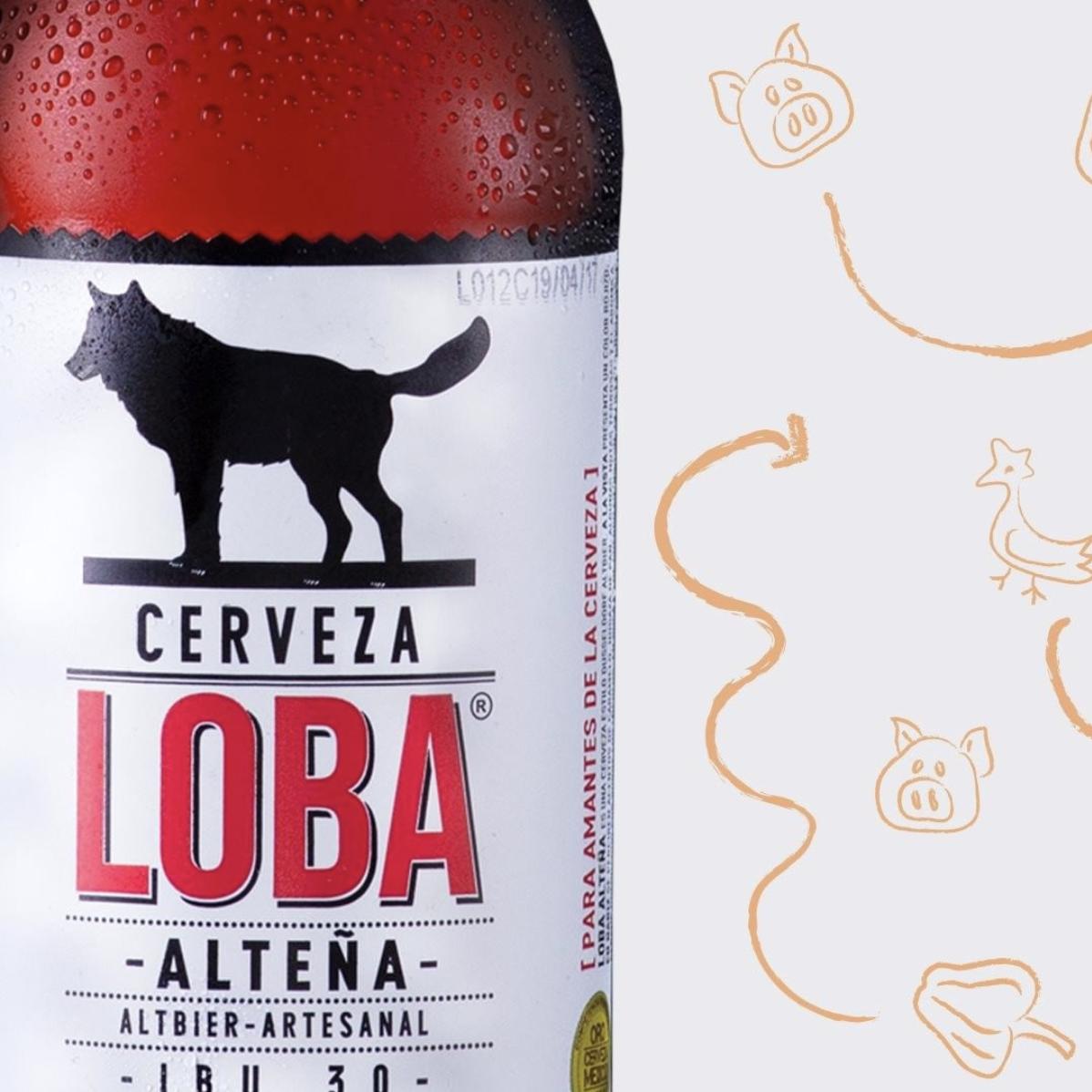 Cata de Cerveza Loba Yerky's
