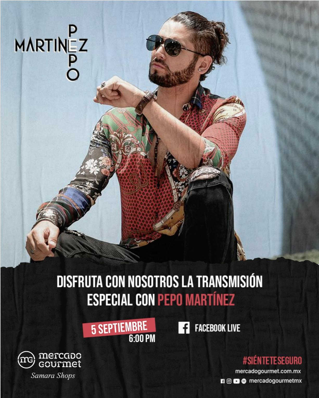 Concierto Live Pepo Martínez