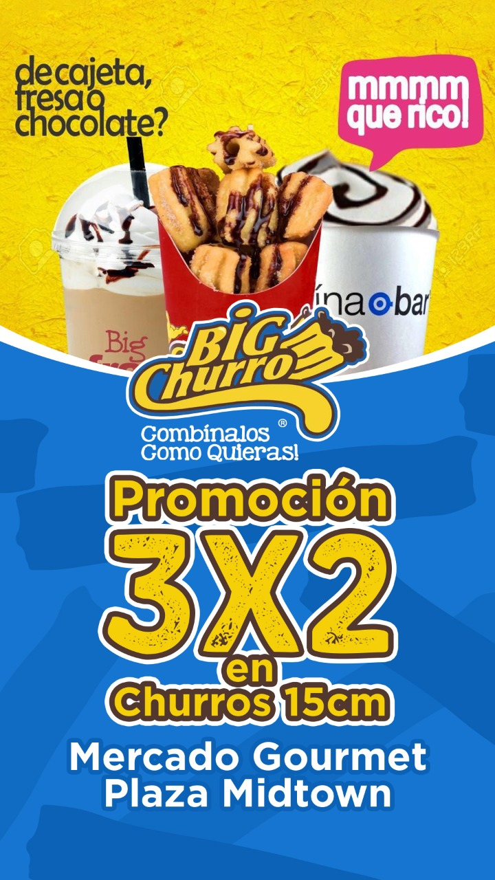 Promoción Big Churro