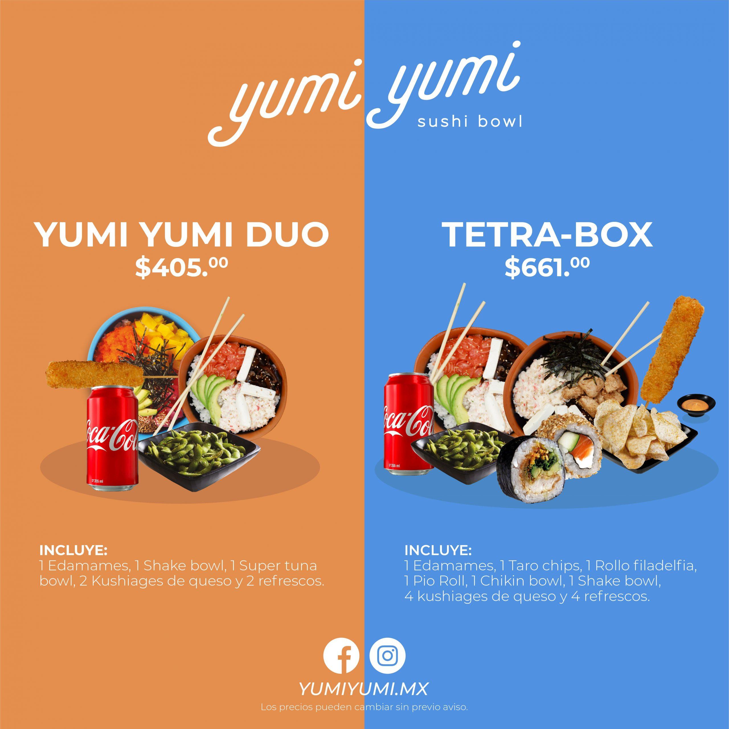 Promo YumiYumi Septiembre