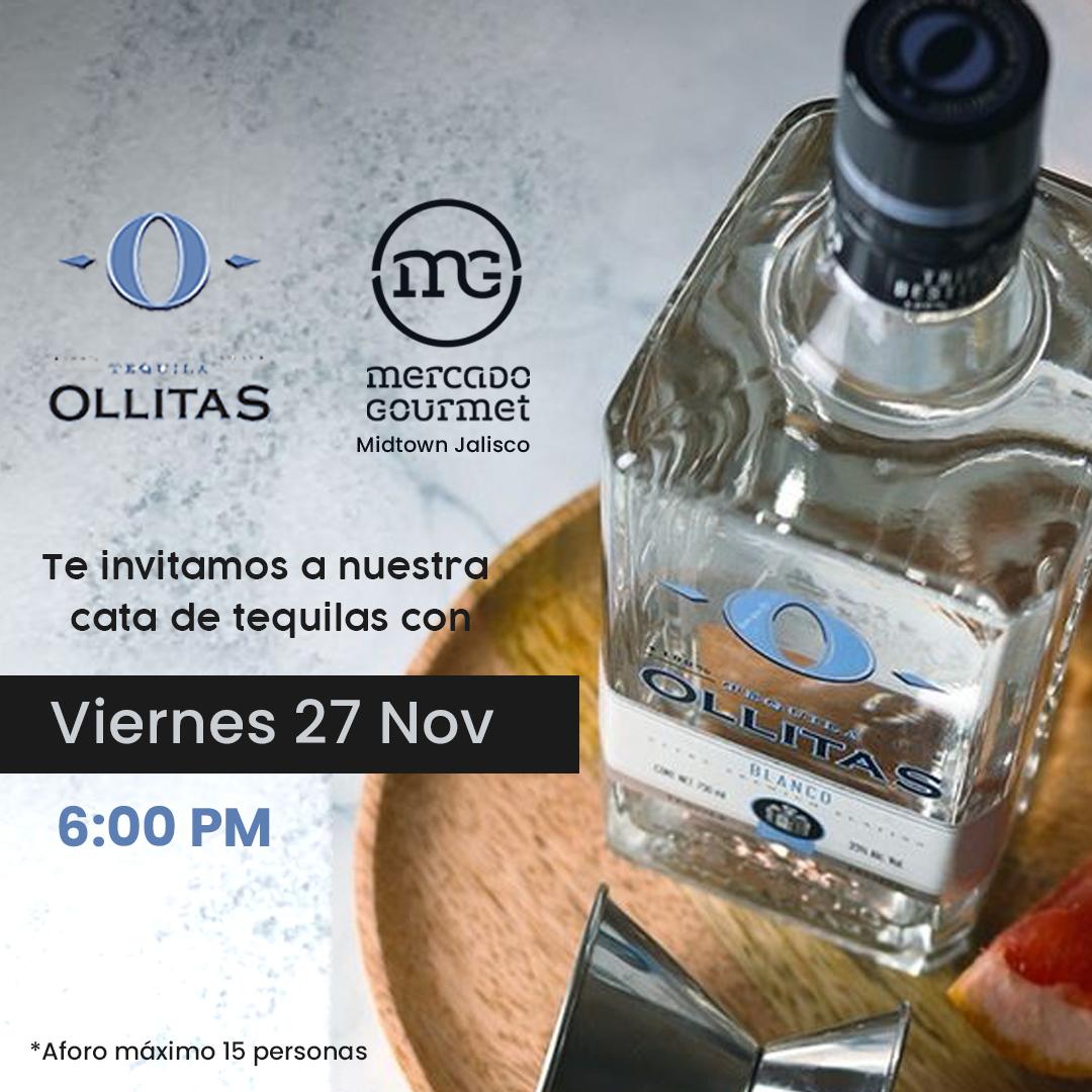 Cata Tequila Ollitas